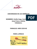 Infome Perfil Lipídico III