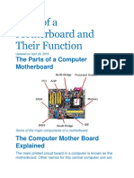 Parts of a Motherboard and Their Function.docx