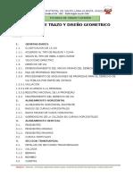 5.2 Trazo y Diseño Vial