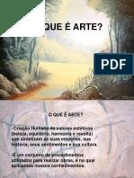 slide O QUE É ARTE.ppt