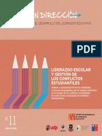 Liderazgo Escolar y gestion de conflictos estudiantiles