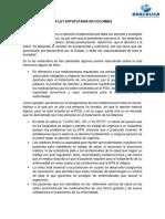 la ley estautaria en colombia.docx
