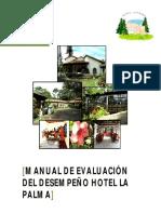 32980677 Manual de Evaluacion Del Desempeno Hotel La Palma