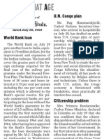 World Bank Role
