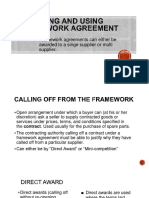 work agreement