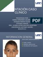 Caso Clinico de Jhon Vargas