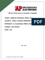Derecho Procesal Penal III Trabajo Listo