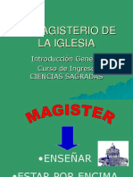 Tipos de Documentos Del Magisterio