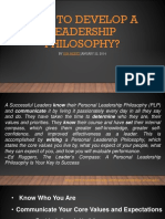 How to Develop a Leadership Philosophy_Alvine