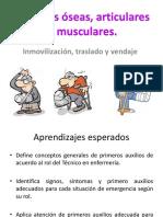 Lesiones Óseas Articulares y Musculares