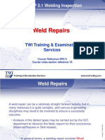 18. Weld Repairs