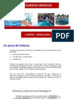 Historia del agua