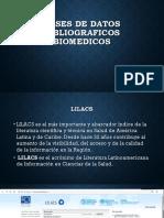 Bases de Datos Bibliograficos Biomedicos (1)