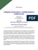 I primi passi dell'apprendista stregone - Paul Gregor.pdf