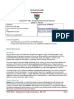 __Managing Service Design and Operations - Syllabus Fall 2015 - V1