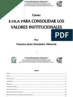 CURSO DE ETICA Y VALORES