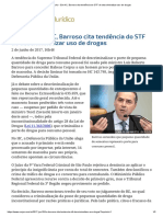 ConJur - Em HC, Barroso cita tendência do STF de descriminalizar uso de drogas.pdf