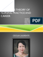 Laurente's Theory of Nursing Practice and Career