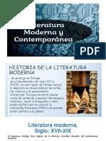 Literatura Moderna y Contemporanea