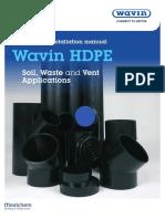4486 Wavin HDPE Soil Waste and Vent Applications PIM WAV009 WEB