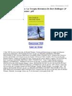 Sin Raices No Hay Alas La Terapia Sistemica de Bert Hellinger (4ª Ed)