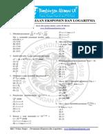 Bab 7 - Persamaan Eksponen Dan Logaritma - Bimbingan Alumni Ui