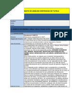 FORMATO DE ANÁLISIS SENTENCIAS DE TUTELA CORTA (1)