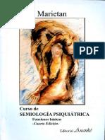 Curso de Semiologia Psiquiatrica - MarietanHugo