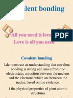 Bonding Covalent