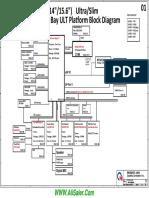 HP Pavilion 15 N Series Quanta U82 R1A DA0U82MB6D0 REV D Schematics