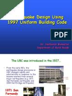 UBC97 Seismic Design Presentation