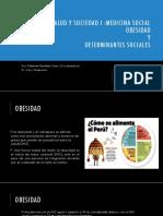 Obesidad y Determinantes Sociales