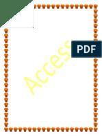 Contenido de Access