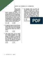 P2 2016.1 Matemáticas (CC)