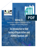 Introduction to Ashrae Standard 184