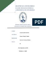 Analisis Economico Del Arancel
