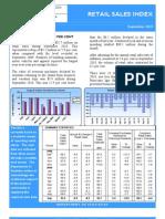 Retail Sales Index September 2010