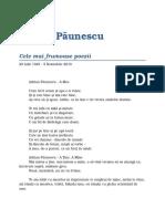 Adrian Paunescu - Cele Mai Frumoase Poezii.pdf