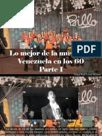 Edgar Raúl Leoni Moreno - Lo Mejor de La Música en Venezuela en Los 60, Parte I