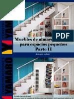 Armando Iachini - Muebles de Almacenamiento Para Espacios Pequeños, Parte II