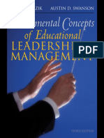 Taher a. Razik - Fundamental Concepts of Educational Leadership and Management-Allyn & Bacon (2017)