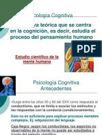 Intro Psicologia Cognitiva