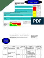 Risk Assessment Sheet Piles Extraction