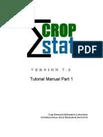 CropStat Tutorial Part 1