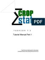 CropStat Tutorial Part 1