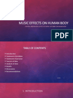 Music Effects on Human Body Ppt