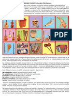Instrumentos Musicales Peruanos
