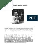 Biography of Constantinos Apostolou Doxiadis