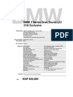 BMW 218i GT LCI Exclusive