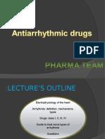 2. Antiarrhythmic Drugs